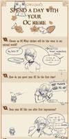 Spend a Day With Your OC Meme by KudohMiyuki