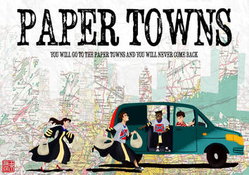 Paper Towns Poster by DominicDrawsArt
