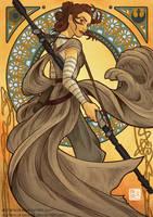Art Nouveau Rey by DominicDrawsArt