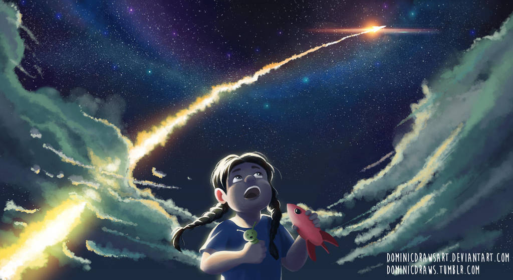 Space Exploration by DominicDrawsArt