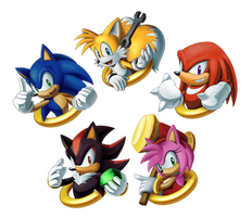 Sonic Charm Design Set 1 by sonicolas