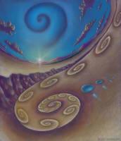 Spiral Landscape by CosmicEye