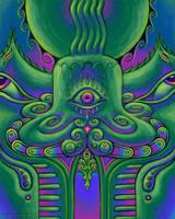 Alien Transmissions by CosmicEye