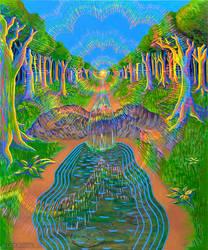 Creek by CosmicEye