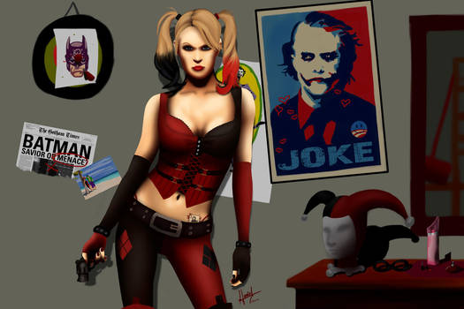 :::Harley Quinn::: by HanoOide