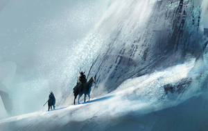 Mountain Pass by conorburkeart