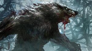 Werewolf 2 by conorburkeart