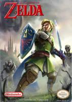 Legend of Zelda by conorburkeart