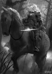 Headless Horseman by conorburkeart