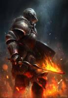 Dark Souls 3 Fanart by conorburkeart