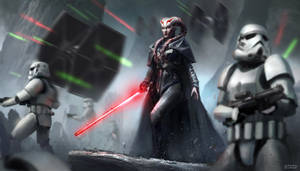 Imperial Forces by conorburkeart