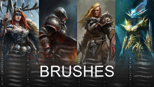 Brushes by conorburkeart