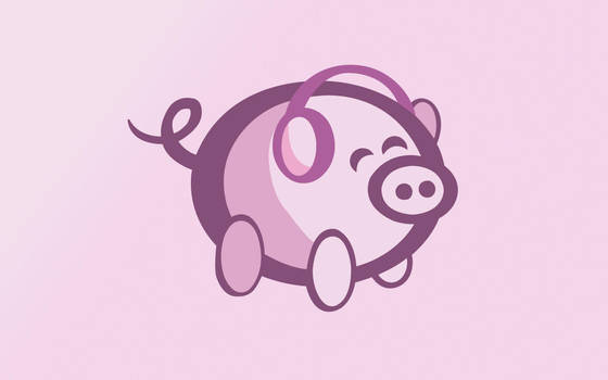 OiNK Piggy Set: 1280x800 by OiNKmemorial