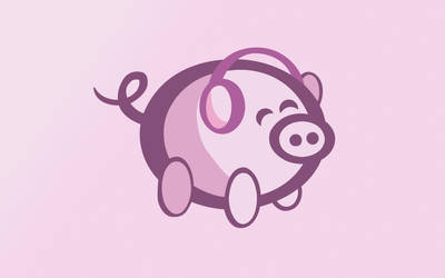OiNK Piggy Set: 1920x1200 by OiNKmemorial