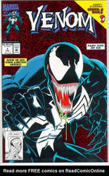 Giant Sized Venom Thing by MALTIAN