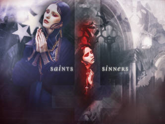 Saint Or Sinner by l3rainy
