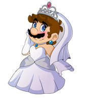 Beautiful bride by PenguinSpuffy