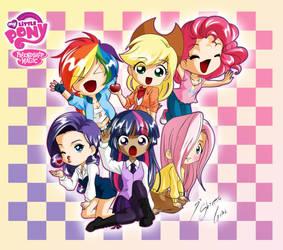 MLP Chibis by Shinta-Girl