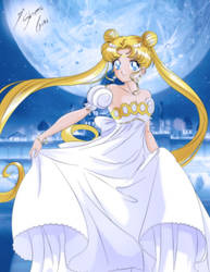 Moonlight Love - Princess Serenity by Shinta-Girl