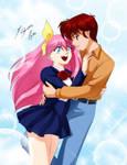 Comission - Shawn + Momoko by Shinta-Girl