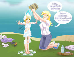 Squeaky Clean by Shinta-Girl