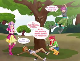 Un poquito expuesto by Shinta-Girl