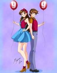 Comission - 99 Luftballons by Shinta-Girl
