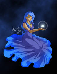 Princess Luna - Good night by Shinta-Girl