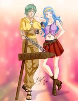 Comission - Zolo + Lyra by Shinta-Girl