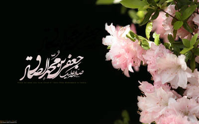 Imam Sadeq pbuh by islamicwallpers