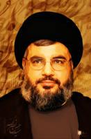 seyyed hassan Nasrollah by islamicwallpers