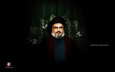 Seyyed Hassan Nasralla by islamicwallpers
