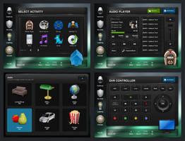 Deana Touchscreen GUI by Guifx