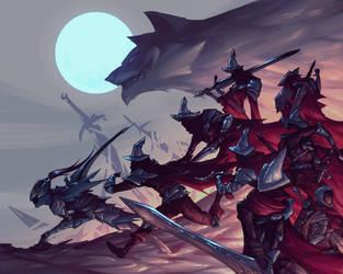 The Abyss Watchers (Dark souls 3 fanart) by ninjakimm