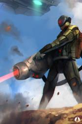 Trooper Beam Canon by soyfreak