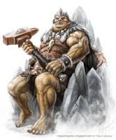 King of Storvar Stair by MiguelRegodon