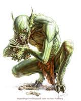 Blasphemous Ghoul by MiguelRegodon
