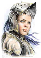 Queen Galfrey by MiguelRegodon