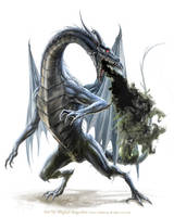 Umbral Dragon by MiguelRegodon