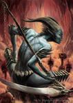 Demoness Reaper by MiguelRegodon