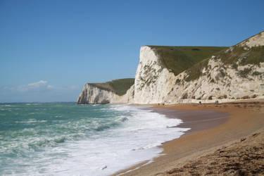 Dorset coast UK by Loves2dive