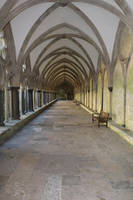 Salisbury Cathedral cloisters by Loves2dive