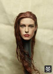 Custom Anne Hathaway 1/6 by NightT47