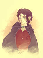 Frodo Baggins by crystalmoonchild