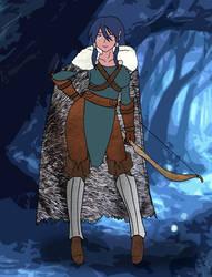 Lunara the Ranger by OldCrowGaming