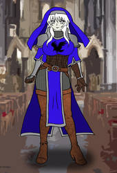 Cutie Cleric Eclair Ravenfeather by OldCrowGaming