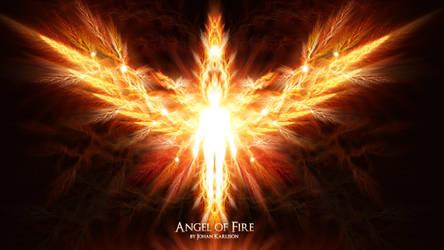 Angel of Fire by ImagineAMatrix