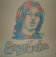 Greg Lake by Dominoes4Syd