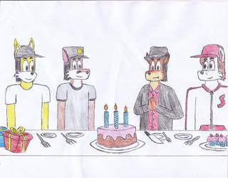 Happy Birthday ZachMFKAttack by DIMASTHEFOX
