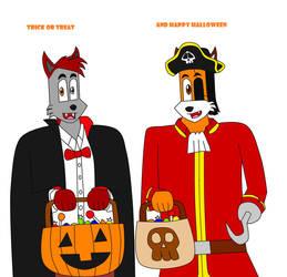 Happy Halloween 2018 Digital Art by DIMASTHEFOX